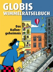 Globis Wimmelrtselbuch &quot;Das Ballongeheimnis&quot; (Cover)