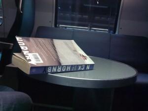 Orte, an denen man Bücher zu Ende liest (3): der Zug