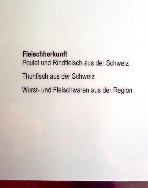 Thunfisch aus der Schweiz