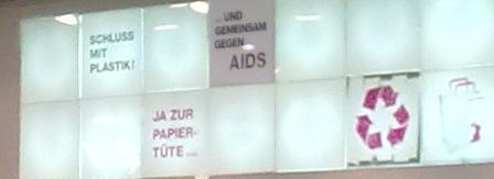 ... und gemeinsam gegen AIDS.